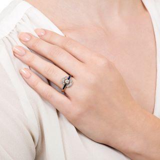 Edwardian Diamond and Sapphire Ring