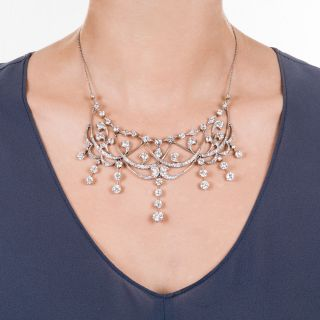 Edwardian Diamond Necklace