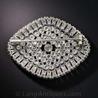Edwardian Platinum Diamond Brooch