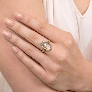 Victorian Essex Crystal Cat/Dog Ring