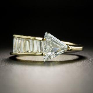 Estate 1.11 Carat Diamond Arrow Ring - GIA G SI2 - 1