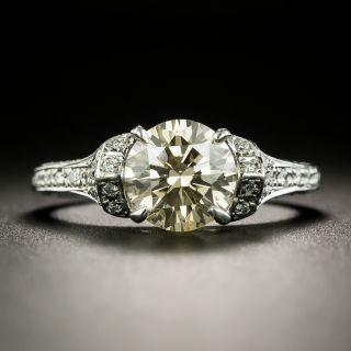 Estate 1.74 Carat Diamond Engagement Ring - GIA - 2