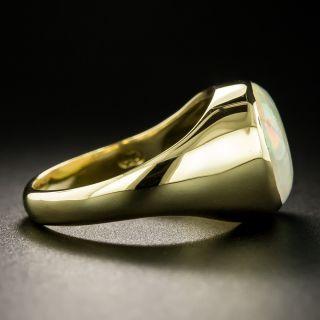 Estate 18K Opal Ring