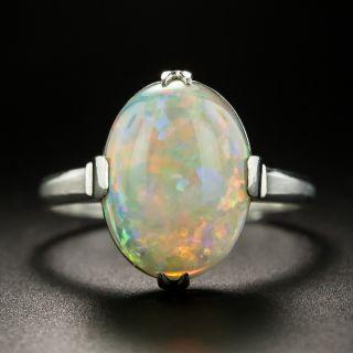 Estate 3.25 Carat Opal Cabochon Ring - 2