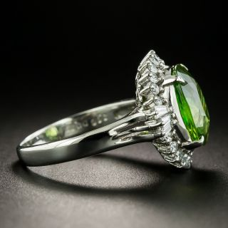 Estate 3.66 Carat Sphene and Diamond Ring