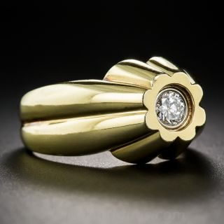Estate.35 Carat Gent's Diamond Ring in 18K