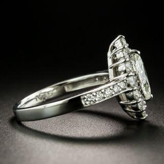Estate .60 Carat Marquise-Cut Diamond Halo Ring