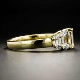 Estate .71 Carat Emerald-Cut Diamond Ring
