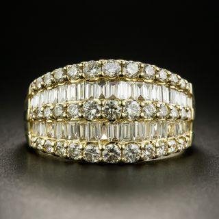Estate Diamond Band Ring - 1