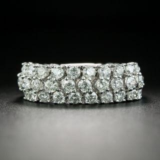 Estate Flexible Diamond Band Ring - 1