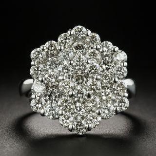 Estate Hexagonal Diamond Ring - 2