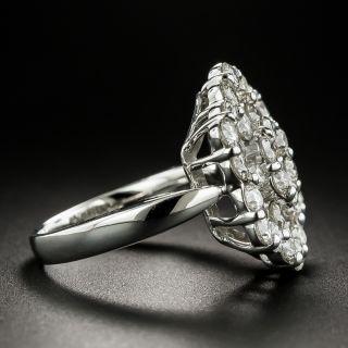 Estate Hexagonal Diamond Ring