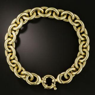 Estate Italian 14K Gold Bracelet - 2