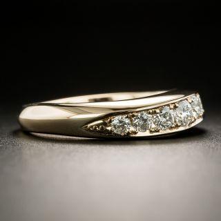 Estate Rose Gold Diamond Wedding Band