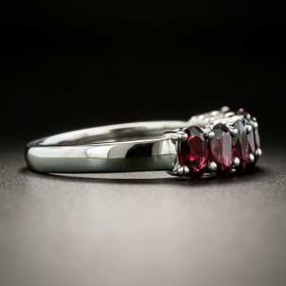 Estate Seven-Stone Garnet Ring