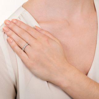 Estate Ten Diamond Wedding Band