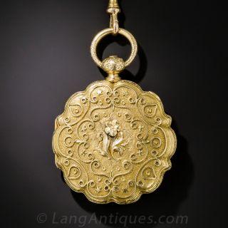 Exquisite Antique Ladies' Pocket Watch