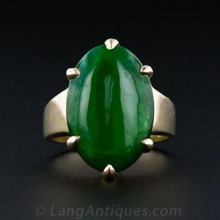Estate Fine Jade Ring