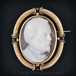 Gentleman's Portrait Cameo