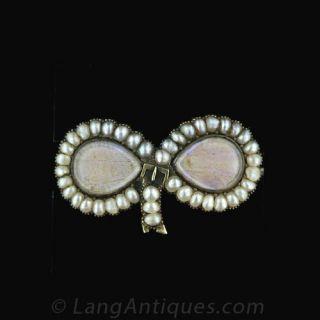 Georgian Butterfly Wing Pin - 1