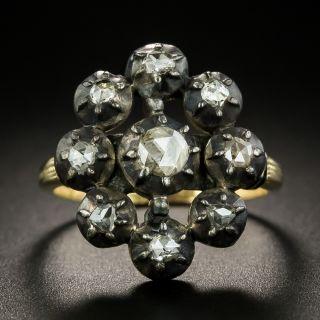 Georgian Diamond Cluster Ring - 2