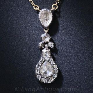 Georgian Diamond Necklace - 1