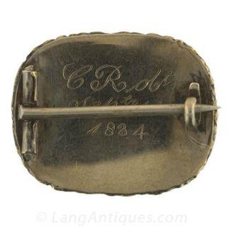 Georgian Memorial Hair Pin