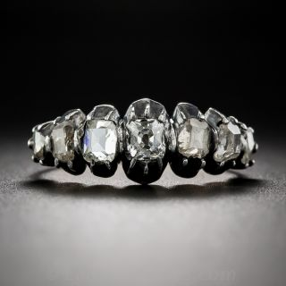 Georgian Seven-Stone Diamond Ring