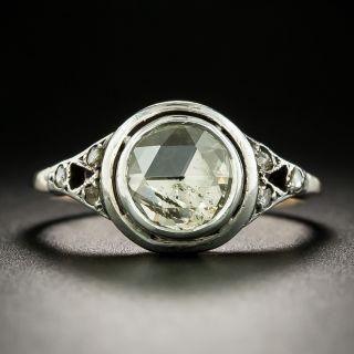 Georgian Style Rose Cut Diamond Ring - 1