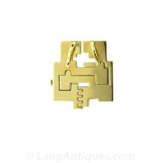 Gold 'Diversity' Pendant