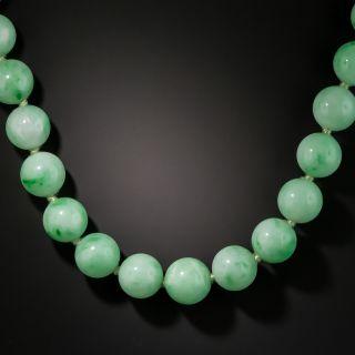 Graduated Jade Beads Necklace - 2
