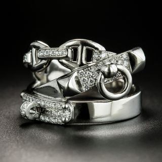 Hermes Alchimie Diamond Ring - 2