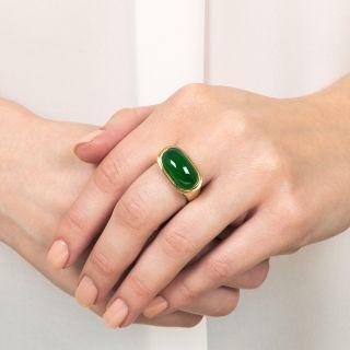 Imperial Burma Jade Ring