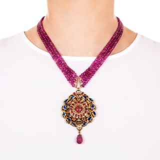 Indian Moghul Style Necklace