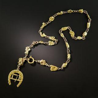 Klondike Gold Nugget Necklace  - 3