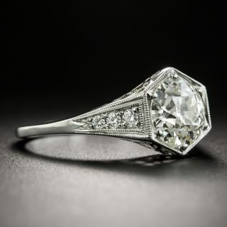 Lang Collection 1.59 Carat Diamond Engagement Ring - GIA K VS2