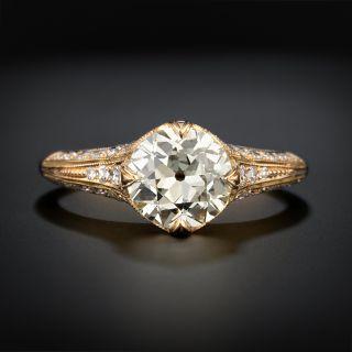 Lang Collection 1.70 Carat Diamond Engagement Ring - GIA Q-R SI2 - 1