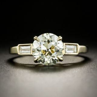 Lang Collection 2.02 Carat Diamond Engagement Ring - GIA O-P VS2 - 1