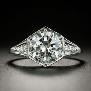 Lang Collection 2.13 Carat Diamond Engagement Ring  - GIA D VS2 - 2
