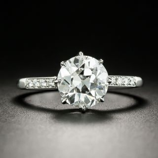 Lang Collection 2.21 Carat D Color Engagement Ring - GIA - 1