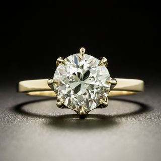 Lang Collection 2.29 Carat Diamond Engagement Ring - GIA M I1 - 2
