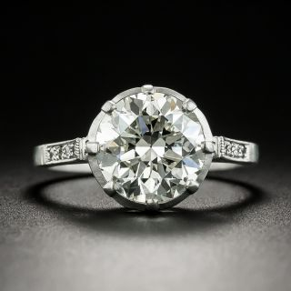 Lang Collection 3.12 Carat Diamond Engagement Ring - GIA K VS1 - 1