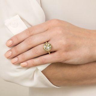 Lang Collection 4.09 Carat Diamond Engagement Ring - GIA
