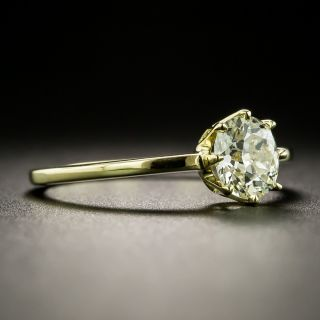 Lang Collection .79 Carat Diamond Solitaire Ring