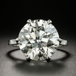 Lang Collection 8.23 Carat Diamond Engagement Ring - GIA K VS1 - 2
