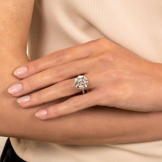 Lang Collection 8.23 Carat Diamond Engagement Ring - GIA K VS1