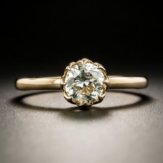 Lang Collection .96 Carat Diamond Solitaire Engagement Ring - GIA K SI1 - 2