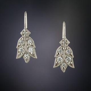 Lang Collection Laurel Diamond Earrings - 3