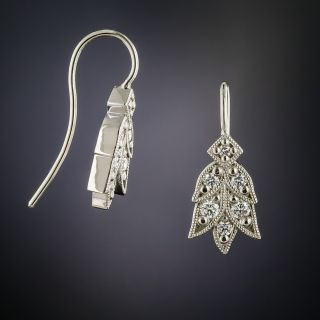 Lang Collection Laurel Diamond Earrings