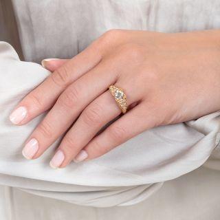 Lang Collection 1.11 Carat Diamond Engagement Ring - GIA I VS1